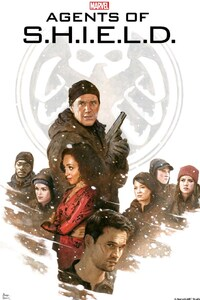 320x480 Agents Of Shield Art