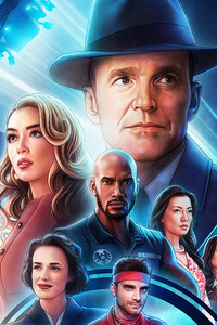 1080x1920 Agents Of Shield Season 7 Poster