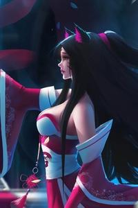 Ahri League Of Legends Fan Art 4k