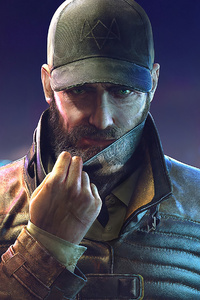 480x800 Aiden Pearce Watch Dogs Legion 4k