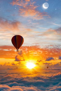 2160x3840 Air Balloons Cloudland 4k