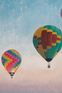 Air Balloons Digital Art 4k