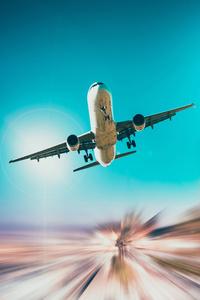 750x1334 Airplane 5k