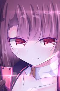 320x480 Akagi Anime Girl