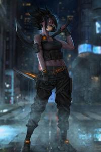 Akali Cyberpunk