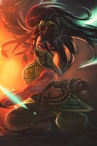 Akali League Of Legends Art