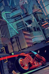 240x320 Akira In City 4k