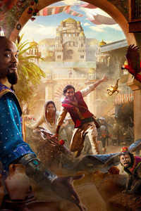 480x854 Aladdin 2019 4k