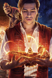 320x480 Aladdin 2019 Movie 10k
