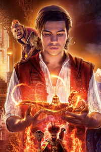 2160x3840 Aladdin 2019 Movie 5k