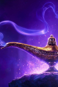1080x2280 Aladdin 2019 Movie