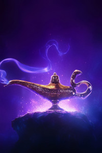 1080x2280 Aladdin Movie 2019 4k