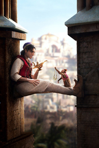 1080x2160 Aladdin Movie 2019