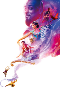 Aladdin Movie Poster 4k