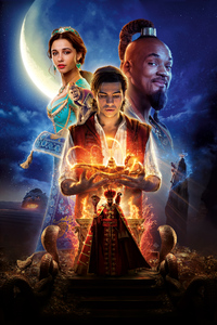 750x1334 Aladdin Movie Poster 8k