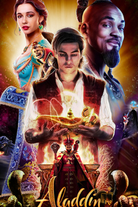 Aladdin Movie Poster Art 4k