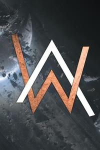 Alan Walker Creative Logo
