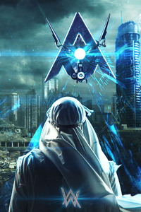 640x960 Alan Walker Darkside 4k