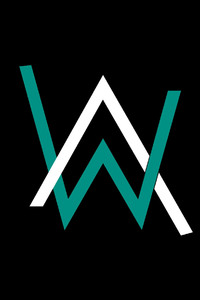 240x320 Alan Walker Logo 4k