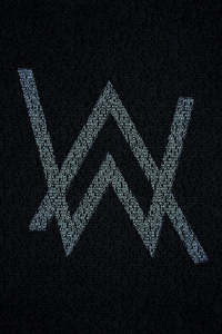 240x320 Alan Walker Typography 4k
