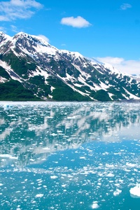 240x320 Alaska Glacier Ice Mountains