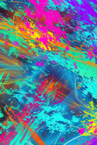 720x1280 Alchemy Colorful Abstract 4k
