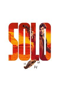 Alden Ehrenreich As Han Solo In A Star Wars Story 8k Poster