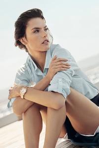 Alessandra Ambrosio Omega Campaign 2018