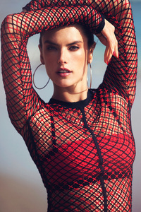 Alessandra Ambrosio The Edit 2017 New