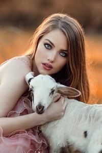 Alessandro Di Cicco With Lamb