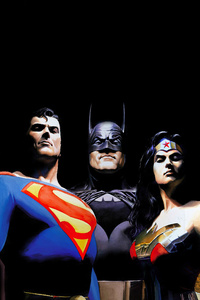 Alex Ross Justice League Artwork