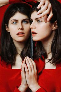 240x320 Alexandra Daddario Two Faces Photoshoot 4k