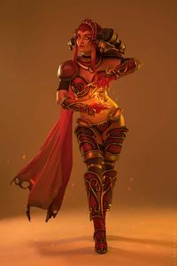 540x960 Alexstrasza World Of Warcraft Cosplay 4k