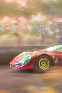 1242x2688 Alfa Romeo 33 Stradale