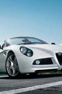 1280x2120 Alfa Romeo 8C Spider