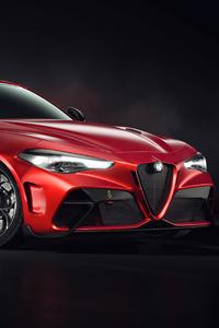 640x960 Alfa Romeo Giulia Gta M Coupe 4k