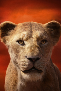 640x1136 Alfre Woodard As Sarabi In The Lion King 2019 4k