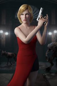 640x960 Alice Resident Evil Game 4k