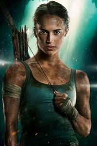 Alicia Vikander As Lara Croft In Tomb Raider 2018 Movie 4k
