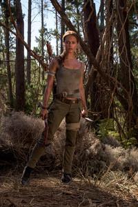 Alicia Vikander As Lara Croft In Tomb Raider