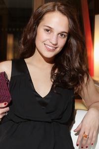 Alicia Vikander Smiling