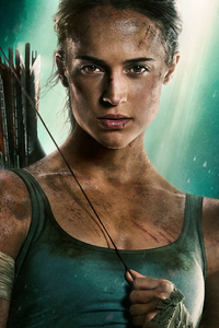 Alicia Vikander Tomb Raider 2018 HD