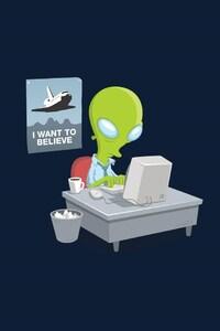 1242x2688 Alien Minimalism