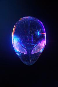 750x1334 Alienware Skull 4k