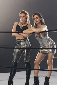 Alison Brie And Becky Lynch ESPN Magazine Photoshoot