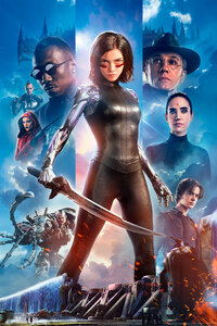 Alita Battle Angel 2019 4k