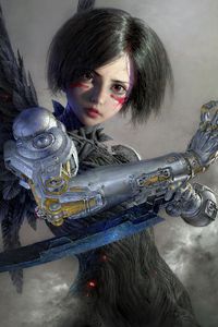Alita Battle Angel 2020