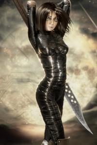 Alita Battle Angel 4k Artwork