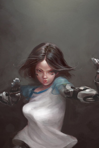 Alita Battle Angel Art
