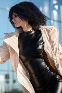1080x2280 Alita Battle Angel Cosplay Girl